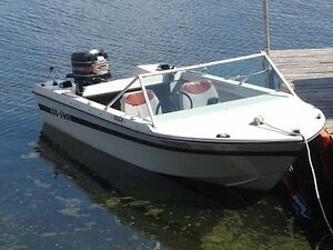 Grew 140SS Fishing Boat/Motor/Trailer