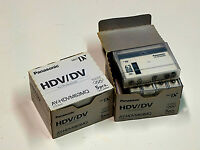 Panasonic DV tapes 60 min. duration NEW in manufacturers packaging