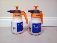 Pair Hozelock pressure sprayers