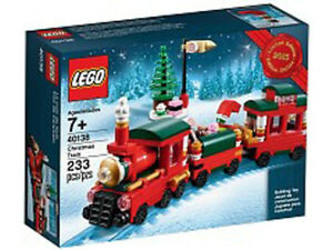 Lego Christmas Train Box # 40138 BOX NEW from 2015