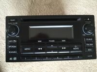 Clarion Subaru Am/fm Radio Tuner AUX CD Blue Tooth