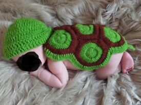 Baby Crochet Costume Turtle