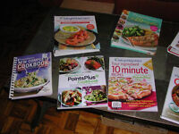 Weight Watchers Cooks Books X9