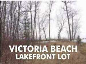 Victoria Beach LAKEFRONT Lot (Restricted Area)