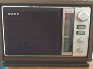 Radio AM/FM Sony vintage ICF-9740