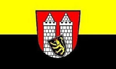 Hof Flagge (Aufkleber Hof Flagge Fahne 8 x 5 cm Autoaufkleber Sticker)