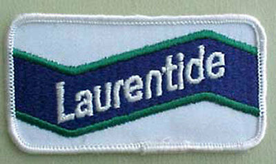LAURENTINE, small Ale beer Patch for Jacket, by Molson, CANADA