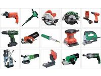 power tools wanted working or not