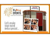 Photobooths + Chocolate Fountains + Candy Carts + Fruit Trees + Venue Dressing + Event Planning