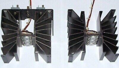 Pair Large To-3 Heatsink 2n3055 Transistor Ps Radio Transmitter Power Amplifier