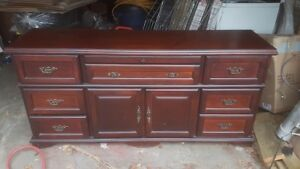 full length dresser and mirror 69x33