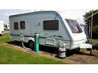 Swift challenger 5 berth tourer.sited skirlington east coast