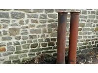 6ft industrial chimney pots good condition