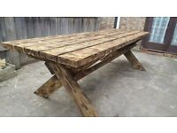 Beautiful Large Garden Table