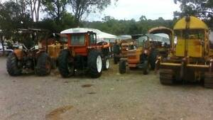 WRECKING FIAT WHEEL TRACTORS AND DOZERS - MANY MODELS Logan Central Logan Area Preview
