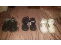 Addidas trainers and nike trainers