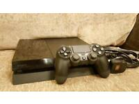 Playstation 4 500gb Black Jet