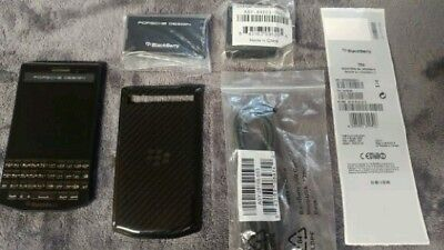 BLACKBERRY PORSCHE DESIGN P'9983 64GB CARBON FACTORY UNLOCKED 4G/LTE ARABIC NWOB