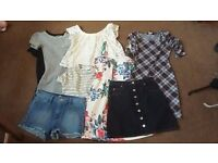 Size 8-10 Women's clothes: Hollister, Topshop, River Island, Urban Outfitters