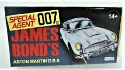 James Bond 007  Aston Martin DB5 Silver