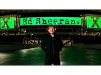 4 x Stage side Standing Ed Sheeran Tickets