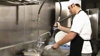 HIRING DISHWASHERS - MUST BE AVAILABLE TO START IMMEDIATELY