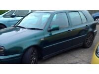 vw golf vr6 dragon green BREAKING
