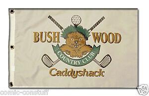 Caddyshack-Bushwood-Country-Club-Gopher-logo-14x20-inch-golf-pin-flag-BRAND-NEW