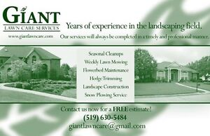 Lawn Mowing/Cleanups - Rental Property Maintenance Solutions London Ontario image 2