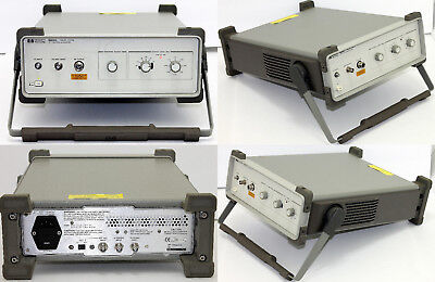 Hp Agilent 85640a Portable Rf Tracking Generator 300 Khz To 2.9 Ghz Ecu