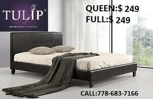 ★DIRECT!100%BRAND NEW PU SOFT BED!FACTORY DEAL!