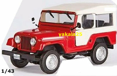 1/43 Jeep Willys CJ5 Dakar Truck Rally Car Bus Dakar Diecast Motor Racing Toy  for sale  Shipping to Canada