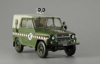 UAZ-469 1:43 deagostini 4wd Soviet military light utility diecast Russian cars for sale  Shipping to United States
