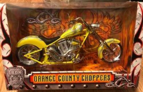 Orange County Choppers Motorcycle Iron Legends OCC 1:6th Scale YELLOW/SILVER NEW