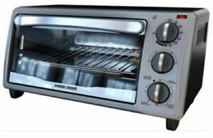 Black and Decker Toaster Oven New