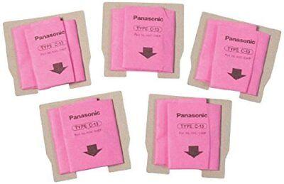 Panasonic Type C-13 Bags #AMC-S5EP- Genuine - 5 Pack