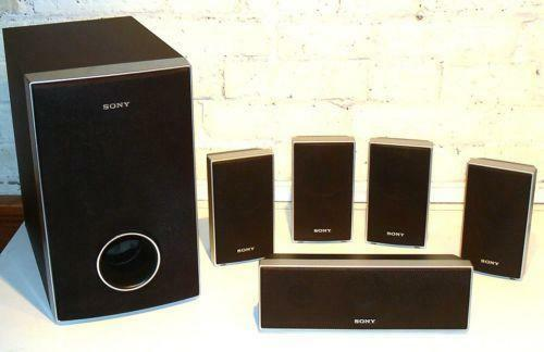 Sony Surround Speakers Ebay
