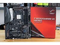 ryzen 5 1600x & ASUS ROG STRIX CROSSHAIR VI HERO motherboard