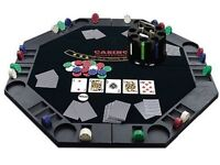 Poker Table Top - Instantly Transforms Any Table Into A True Poker Table
