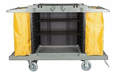 Large Hotel Cart Housekeeping Room Service Cart H 39 X L 60 X W 21 Af08159