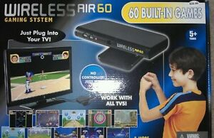 NEW / WIRELESS AIR BX 4932 60 in 1 MOTION VIDEO GAME SYSTEM