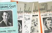 Blackpool Theatre Programmes