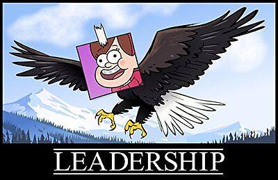 Gravity Falls   Leadership Poster  New  Free Shipping