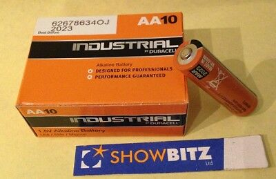 Batteries Duracell Industrial AA formerly Procell Box 10 1.5Volt  LR6 AA10