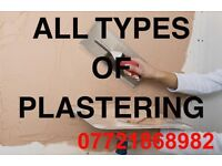 ALL TYPES OF PLASTERING SPECIALISTS