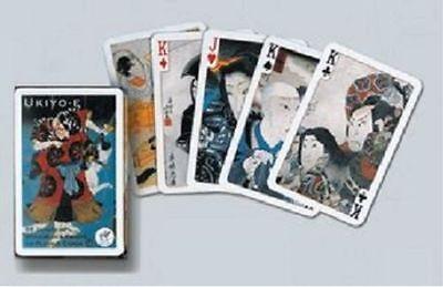 Ukiyo-E single deck By Piatnik Playing Cards