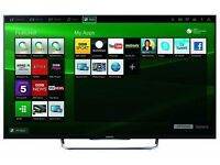 """Sony 43"""" Full Smart LED TV Slim Bezel Design Complete with remote and warranty"""