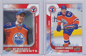 Connor McDavid Rookie Cards - Set of 2