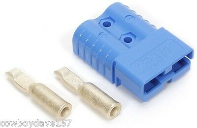 Anderson Sb120 Connector Kit Blue 2 Awg 6801g1 Includes Domestic Shipping