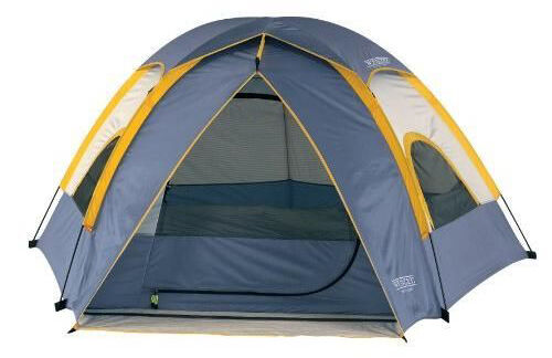 With 49 square feet of space the Wenzel 36419 tent provides enough room for three people to sleep comfortably. Mesh insets in the door and along the sides ...  sc 1 st  eBay & Top 10 Family Tents | eBay